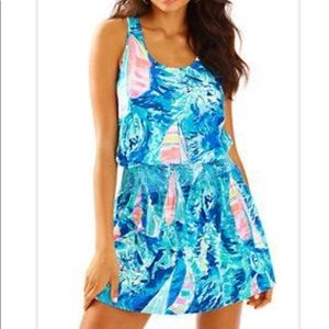 LILLY PULITZER tideline dress beach and bae